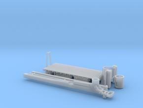 Manitex 35100c Metal Deck Crane Bed 1-87 HO Scale in Smooth Fine Detail Plastic