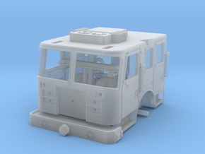 1/160 2009 KME cab in Smooth Fine Detail Plastic