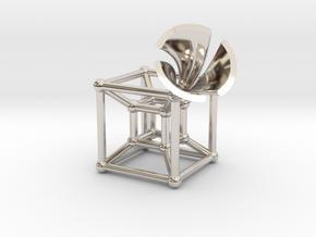 HyperCube Type 2 (miniature) in Platinum