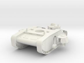 1/100 Sandcrab Tank Mk 2 in White Natural Versatile Plastic