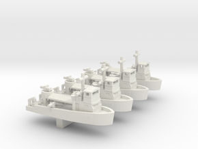 1/600 Vietnam MSB X 4 Off in White Natural Versatile Plastic