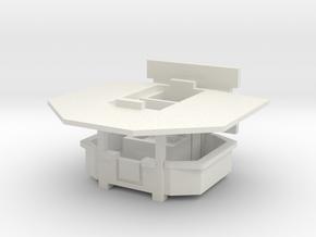 Ausschankwagen 1 - 1:87 (H0 scale) in White Natural Versatile Plastic