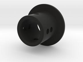 TC Adjustable Body Mount (6mm) in Black Natural Versatile Plastic
