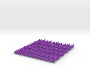 ribbon3-100x in Purple Processed Versatile Plastic