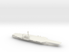 1/2400 USS Kitty Hawk CV-63 in White Natural Versatile Plastic