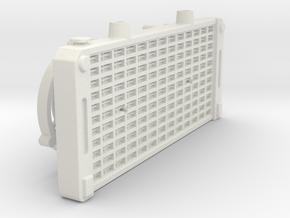 1/10 Scale Crawler Radiator in White Natural Versatile Plastic