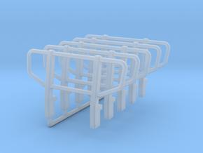 Frontschutzbügel für Zetros in Smooth Fine Detail Plastic