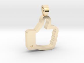 Like it [pendant] in 14K Yellow Gold