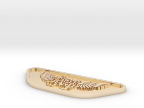 ScreaminEagle 3d Model Print A2 SCALED in 14K Yellow Gold