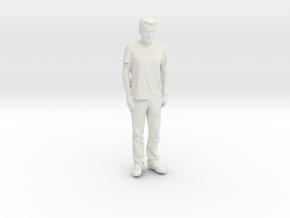 Printle C Homme 125 - 1/32 - wob in White Natural Versatile Plastic