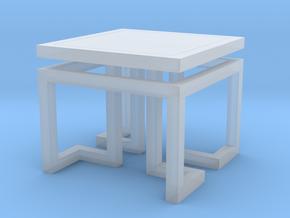 Miniature Eichholtz Side Table Palmer - Eichholtz in Smooth Fine Detail Plastic: 1:12