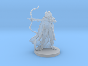 Tiefling  Female  Ranger in Smooth Fine Detail Plastic