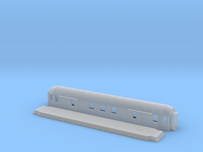 Fo2b - Swedish passenger wagon in Smooth Fine Detail Plastic