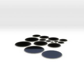 circles sheet plates sides universal kit 2.5  5 10 in Transparent Acrylic