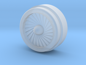 28mm Typhoon Engine Fan in Smooth Fine Detail Plastic