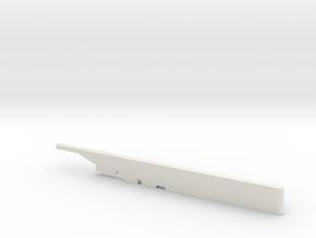 1/48 scale F15 ASAT Missile Launch Rail in White Natural Versatile Plastic