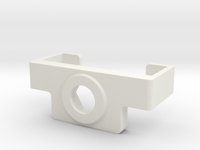 Mini Ray holder  in White Natural Versatile Plastic