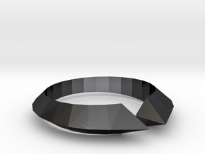 self defense ring in Polished and Bronzed Black Steel: 10.25 / 62.125