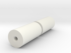 Rolls for Flatracks in White Natural Versatile Plastic