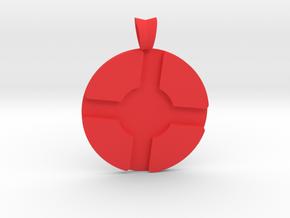 Team Fortress 2 Pendant in Red Processed Versatile Plastic