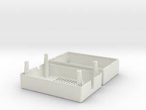 Amiga Mean Well PT-45B / PT-65B PSU Case in White Natural Versatile Plastic