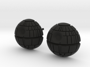 Death Star Studs in Black Premium Versatile Plastic