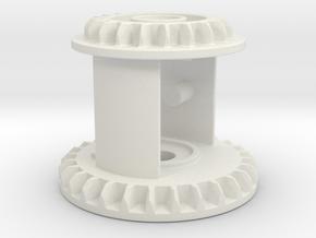 Diff 3m 28z+20z 4gear diff in White Natural Versatile Plastic