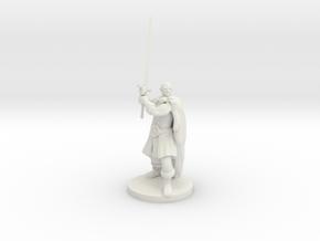 Mountain Barbarian in White Premium Versatile Plastic
