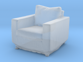 Printle Thing Armchair 02 - 1/43 in Smooth Fine Detail Plastic
