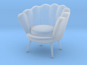 Miniature Trapezium Chair - Eichholtz in Smooth Fine Detail Plastic: 1:24