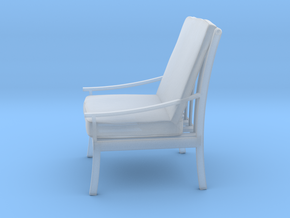 Printle Thing Armchair 05 - 1/43 in Smooth Fine Detail Plastic
