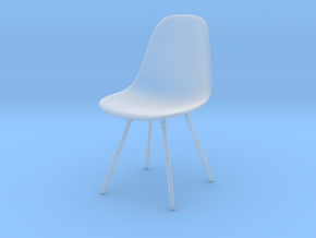 Printle Thing Chair 02 - 1/43 in Smooth Fine Detail Plastic