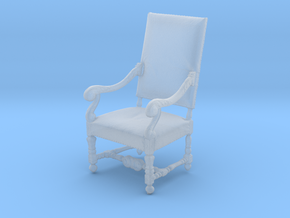 Printle Thing Chair 03 - 1/43 in Smooth Fine Detail Plastic