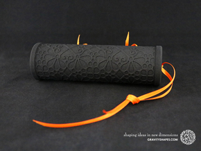 Solid Gift roll XXL-size with Mosaic-3 (14 cm) in Black Natural Versatile Plastic