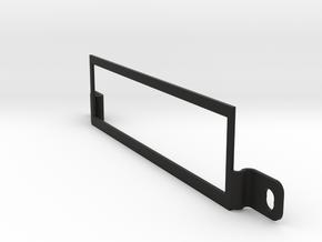 Wiliams Display Bracket for System 3-7 pinball in Black Natural Versatile Plastic