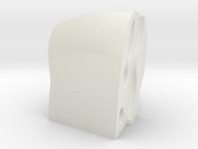 F18 Lh Gripshell in White Natural Versatile Plastic