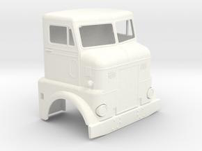 BN cab 124 in White Processed Versatile Plastic