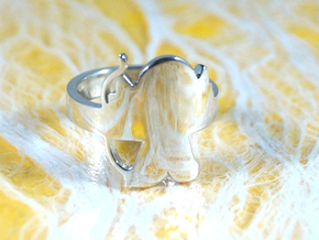 Cupido  in Polished Silver: 5 / 49