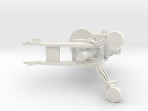 sentry gun from team fortress 2 in White Natural Versatile Plastic