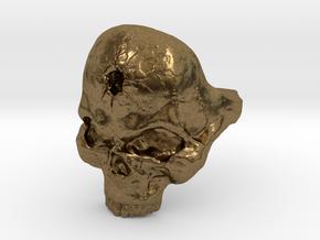 Skull_Ring-Bullet-8 in Natural Bronze