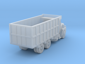 Mack Coal Truck - Nscale in Smooth Fine Detail Plastic
