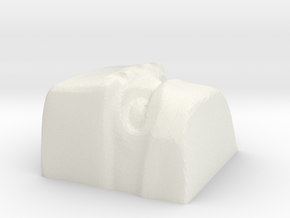 golem 2 cherryMX keycap in White Natural Versatile Plastic
