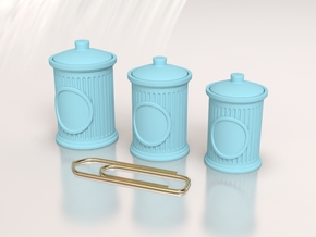 Cute Jar for Your Dollhouse, Size L in Smoothest Fine Detail Plastic