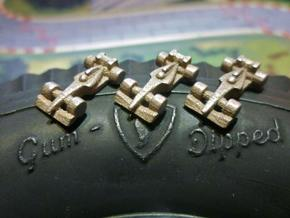 Formula 1 Miniatures - 2011 in Polished Bronzed Silver Steel