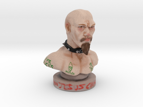 GG ALLIN Micro Bust in Full Color Sandstone