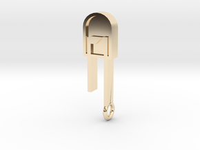 LED Pendant  in 14K Yellow Gold