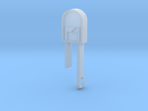 LED Pendant  in Smooth Fine Detail Plastic