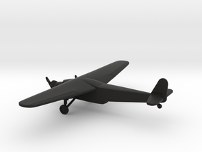 Fokker F.IX / Avia F-IX D in Black Strong & Flexible: 6mm