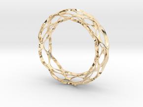 Vornado in 14k Gold Plated Brass
