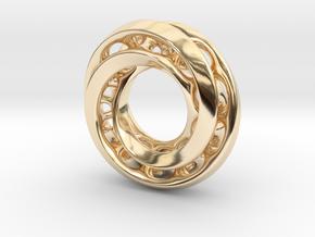 Mobius Pair in 14K Yellow Gold